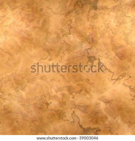 Seamless abstract texture of a copper plate in square format - stock photo