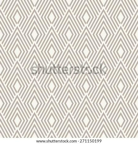 Seamless anthracite gray art deco op art diamond pattern - stock photo