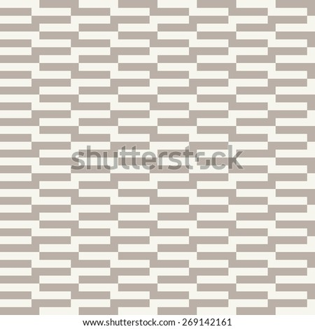 Seamless anthracite gray op art rectangle pattern - stock photo