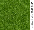 Seamless Artificial Grass Field Texture - stock photo