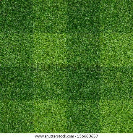 Seamless Artificial Grass Field Texture, fine grain astro pitch - stock photo