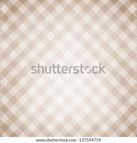 Seamless background of plaid pattern - stock photo