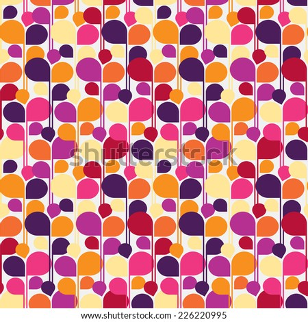 Seamless background texture of canvas. Raster version - stock photo