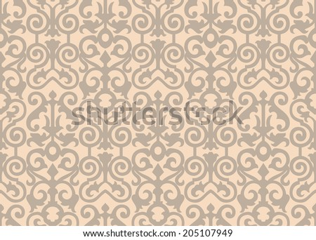 Seamless background with retro pattern.  - stock photo