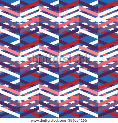 Seamless background with simple geometrical drawing. - stock photo