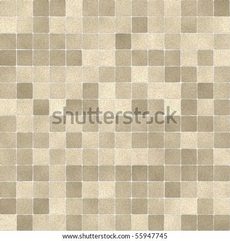 Seamless bathroom tiles pattern - stock photo
