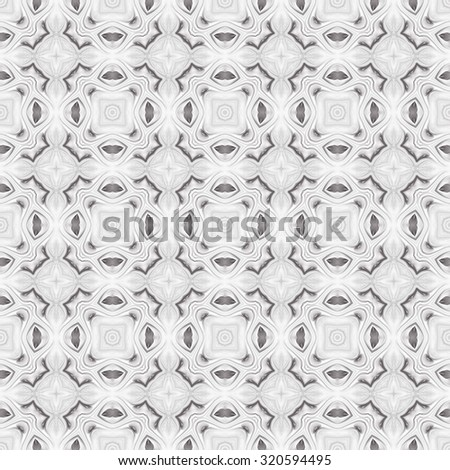 Seamless black and white pattern for design and background