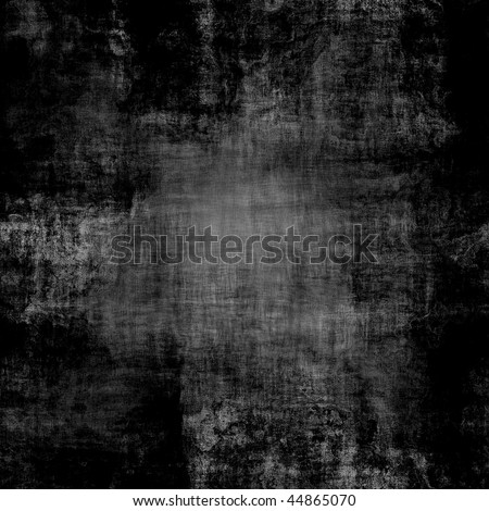 Seamless black dirty canvas texture with visible threads - stock photo