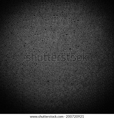 Seamless black texture with plastic effect - stock photo