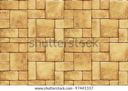 Seamless blocks - stock photo