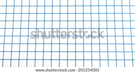 seamless blue graph paper pattern - stock photo