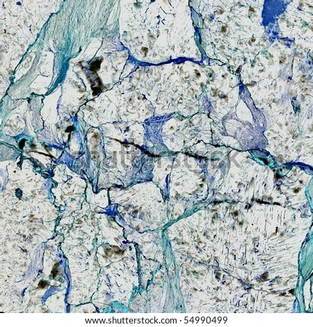 seamless blue marble texture - stock photo