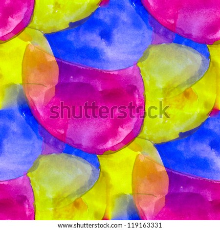 seamless blue purple yellow background watercolor water abstract art