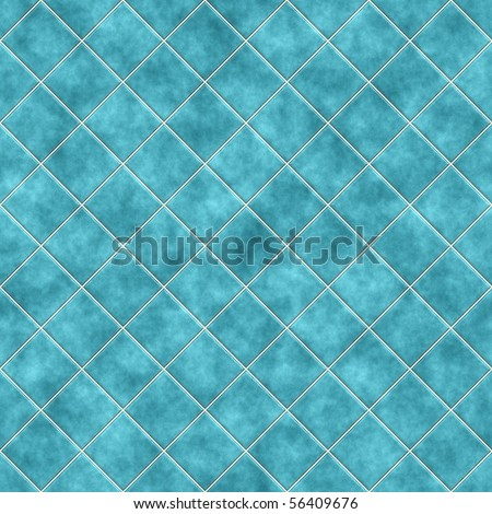 Seamless blue tiles texture background, kitchen or bathroom concept