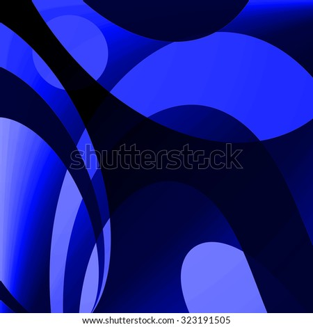 Seamless blue vintage colorful line brush illustration background. Striped texture. - stock photo