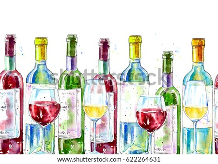 Alcohol border stock images royalty free images vectors for Painting while drinking wine