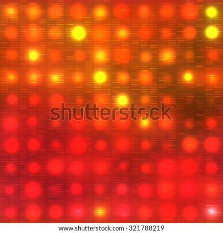 Seamless bright abstract mosaic red background pattern with gloss