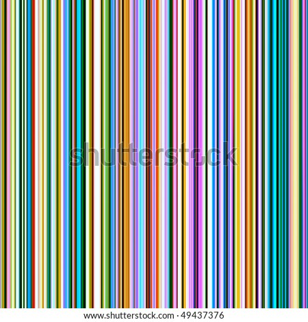 Seamless bright colors vertical lines pattern background. - stock photo