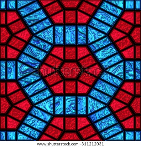 Glass Pattern Seamless Stained Stock Images RoyaltyFree Images