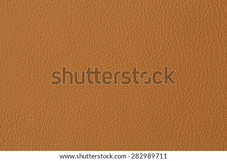 Seamless brown leather texture background surface closeup - stock photo
