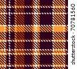 Seamless checkered pattern - stock photo