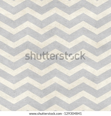 Seamless chevron pattern on paper texture. Basic shapes backgrounds collection - stock photo