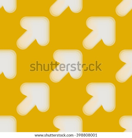 Seamless colorful abstract pattern from arrows - stock photo