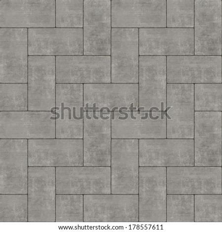 Seamless Concrete Texture - stock photo