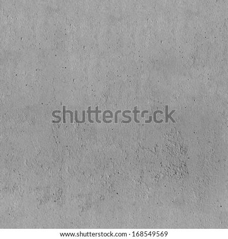 Seamless concrete texture. Gray background - stock photo