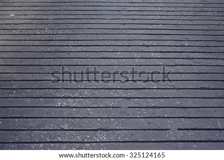 Seamless concrete texture in the town street - stock photo