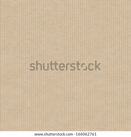 Seamless corrugated cardboard texture background. - stock photo