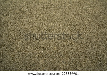 Seamless dark sand background - stock photo