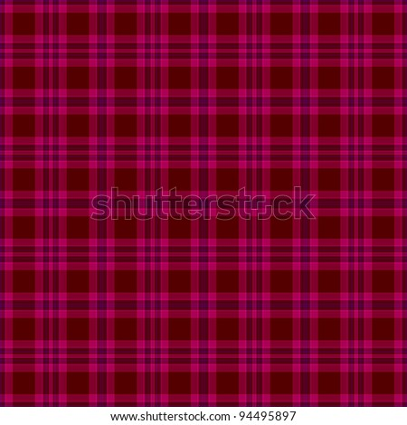 French pink black white houndstooth tartan stock vector - Deep pink wallpaper ...