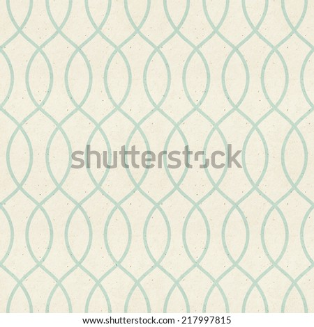 Seamless delicate veil-like pattern on paper texture. Classic wallpaper design. - stock photo