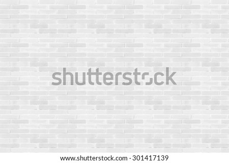 Seamless design vintage style light white grey tone brick wall detailed pattern textured  background: Seamless retro grungy brickwork masonry detail backdrop in white gray color tone          - stock photo