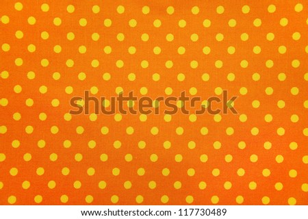 Seamless Fabric Polka Dot - stock photo