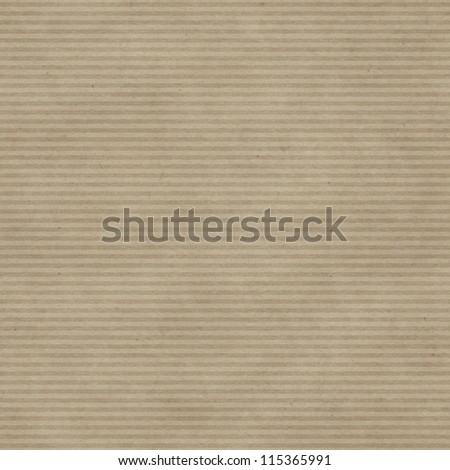 Seamless fine horizontal strokes pattern on paper texture - stock photo