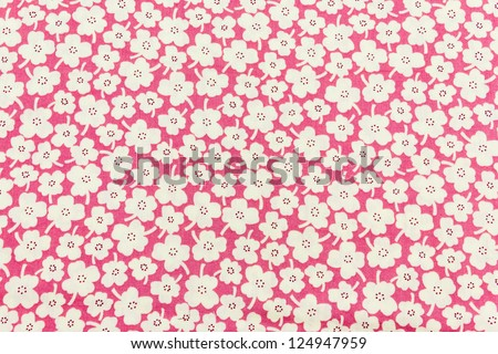 Seamless floral pattern. Flowers texture. - stock photo