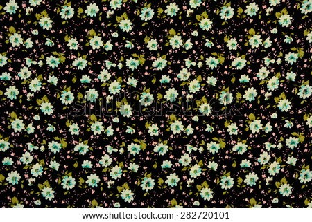 Seamless floral pattern. Flowers texture - stock photo