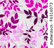 seamless floral pattern in soft violet colors for your design - stock vector