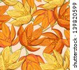 Seamless floral pattern. Raster version. Vector is also available in my gallery - stock photo