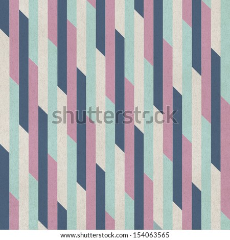 Seamless geometric background. pattern on paper texture - stock photo
