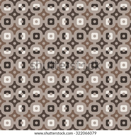 Seamless geometric pattern - stock photo