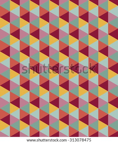 Seamless geometric pattern. Colorful background. raster version