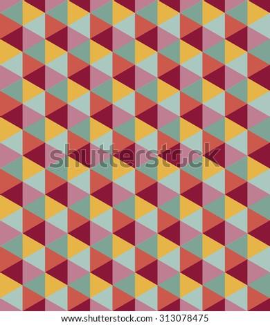 Seamless geometric pattern. Colorful background. raster version - stock photo