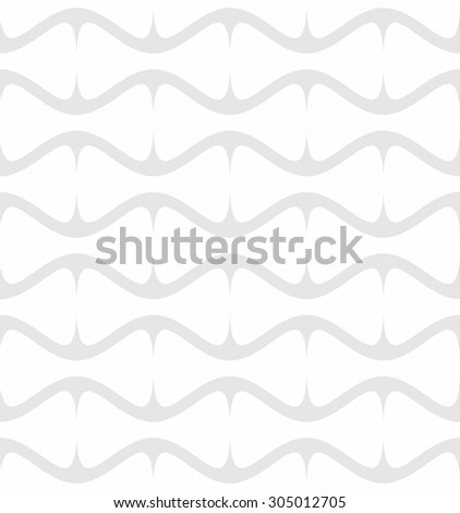 seamless geometric rounded shapes pattern- white on grey