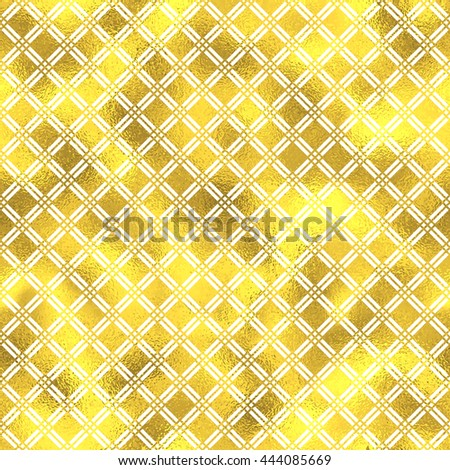 seamless geometric textured golden pattern background