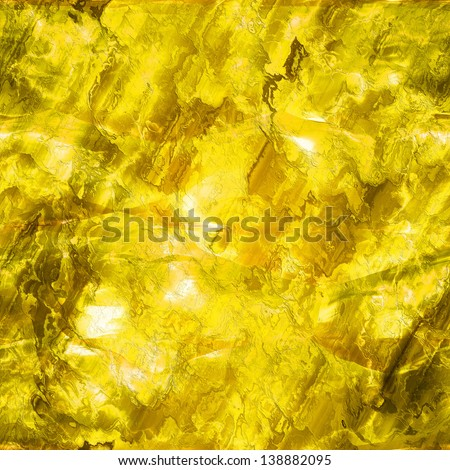 Seamless gold texture (big collection) - stock photo