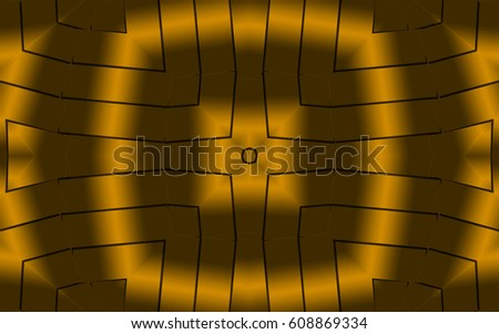 Seamless Golden Patterns Template For Wallpaper Packaging Printing InteriorAbstract Texture