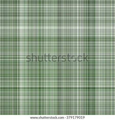 Seamless green background of plaid pattern